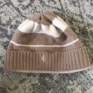 Ralph Lauren striped winter hat